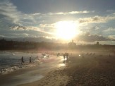 Bondi Beach at sunset, Sydney