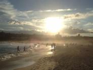 Bondi Beach at sunset, Sydney