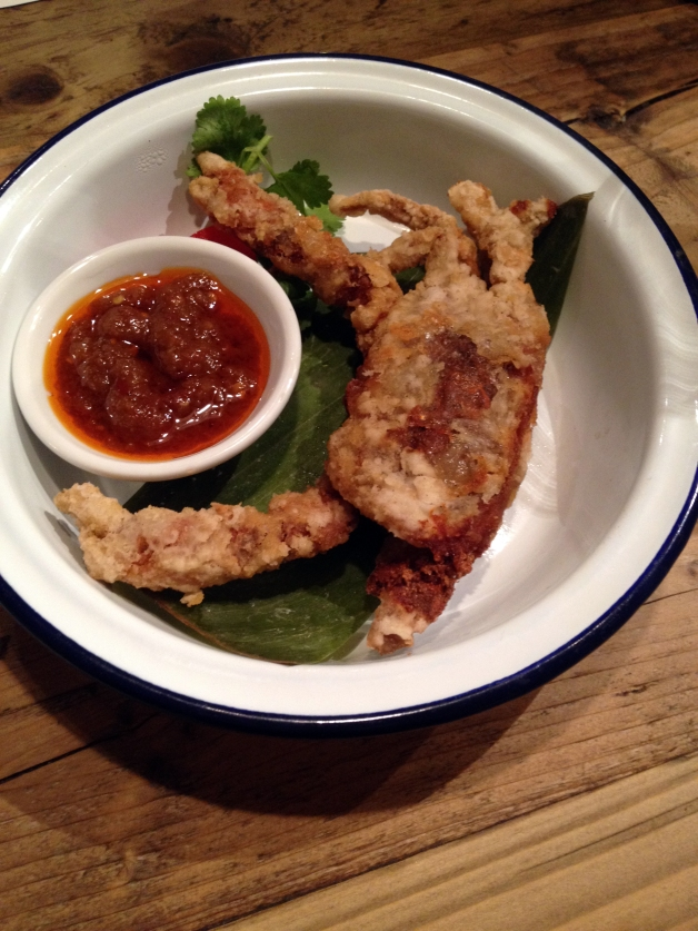 Ekachai-soft shell crab