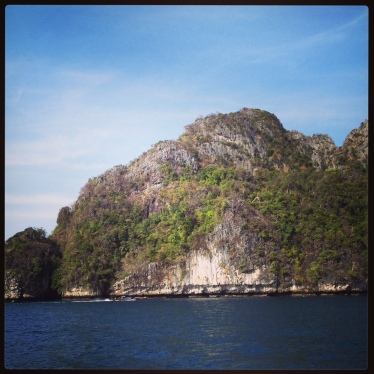 Andaman Islands ferry scenery