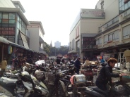 Motorbikes in Shanghai