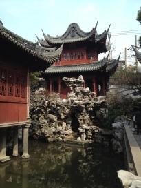 Yu'yuan Gardens temple, Shanghai