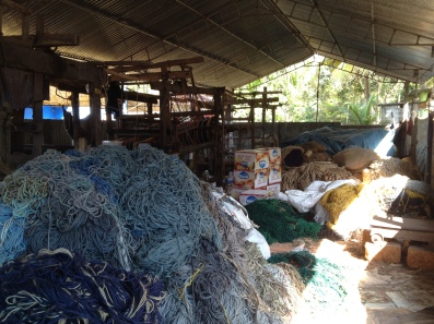 Yarn plant in Kerala, India