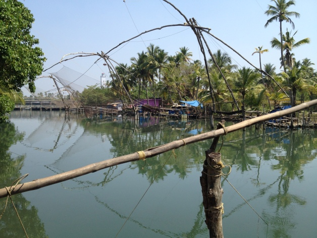 Fishing nets outside Cochin